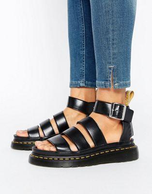 Dr Martens Clarissa Vegan Strappy Flat Sandals