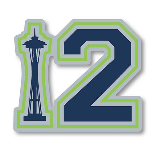 12th Man Space Needle Sticker $5.50 | Car | Pinterest ...