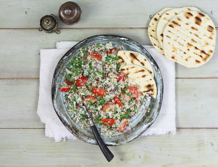 Cauliflower & Lentil Tabbouleh Recipe | Abel & Cole