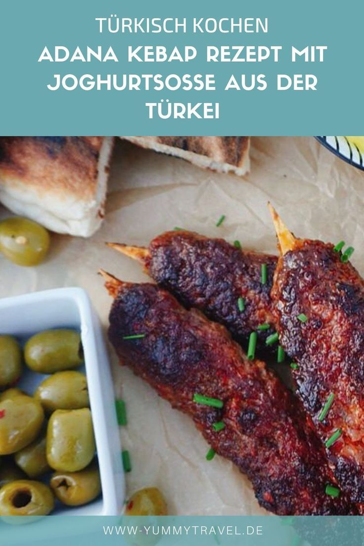 Adana Kebap Mit Joghurt Rezept Rezepte Spiesse Rezept Und