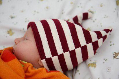 Un tutorial para hacer un gorrito de bebé