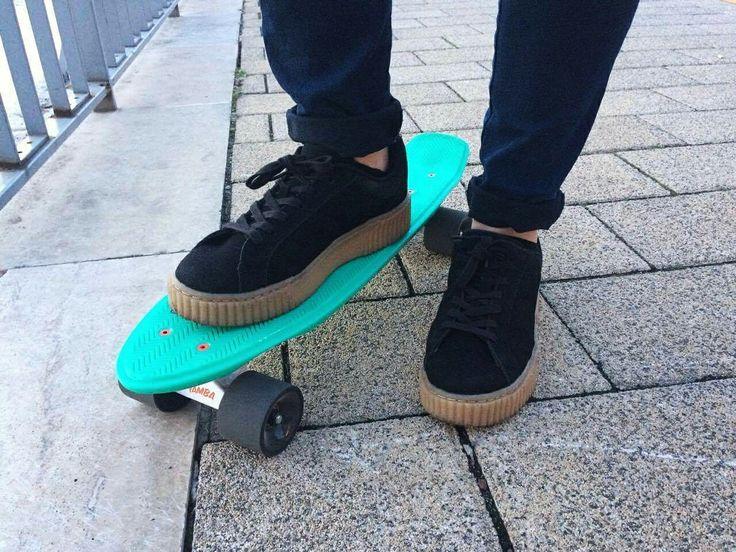 My skateboard. ❤ #skateboard #pennyboard #yamba #skateboarder