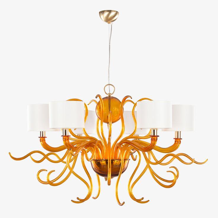 Vi presentiamo in anteprima #Tourbillon, uno dei nostri nuovi lampadari in vetro artistico.  Presto sarò visibile nel nostro sito e verrà inserito nel catalogo MULTIFORME!
