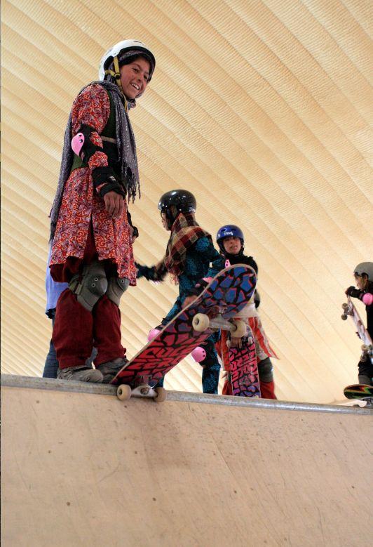 skateistan.com in Afganistan - using skateboards to empower and teach kids
