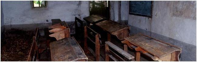 La vecchia scuola di Maison Gran Paradiso