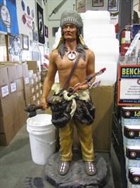 Shoshone Indian - Army Surplus Warehouse - Idaho Falls, Idaho