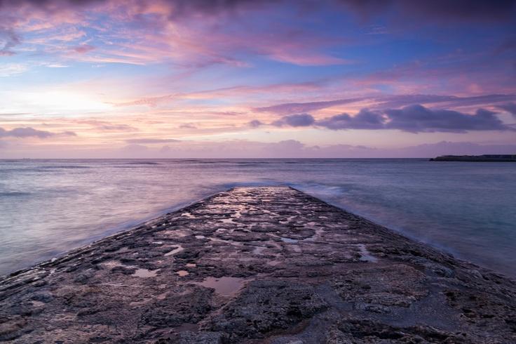 Tropical Beach Sunset ...