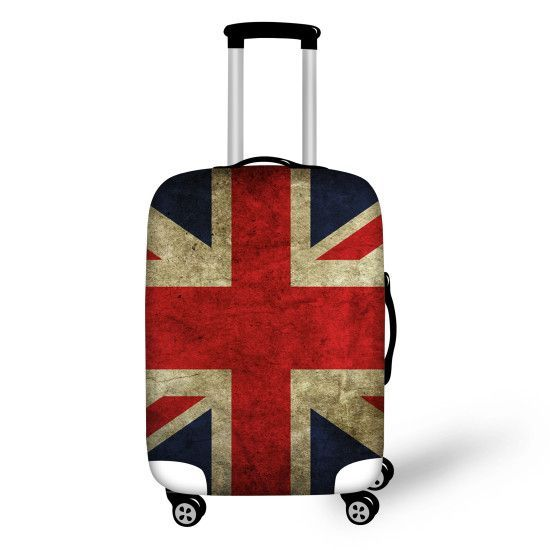 "NEW TREND! Trolley Suitcase Waterproof Protective Covers for 18-30"" American Flag + 6 Other Styles"