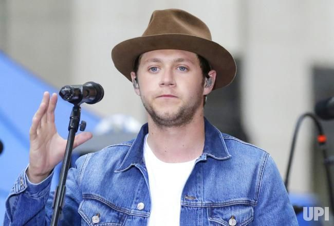 Niall Horan performs on the NBC Today Show at Rockefeller Center in New York City on May 29, 2017. Photo by John Angelillo/UPI