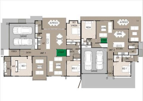 KEY SPECS   TOTAL: 479.9m2 Unit 1 232.7m2 3 Bedroom 2 Bathroom 2