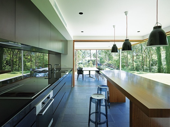Fig Tree Pocket House is the Plazibat family's home, designed by architect Shane Plazibat in consultation with his wifeLiz.