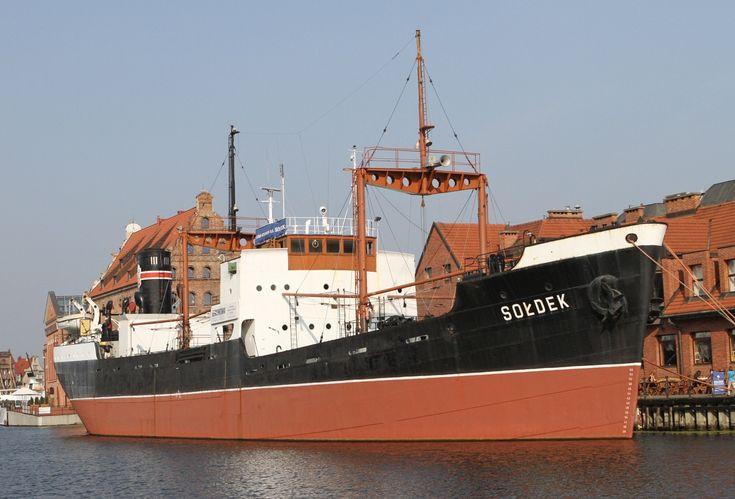 Sołdek - pierwszy statek zbudowany w Stoczni Gdańskiej | #gdansk #sightseeing