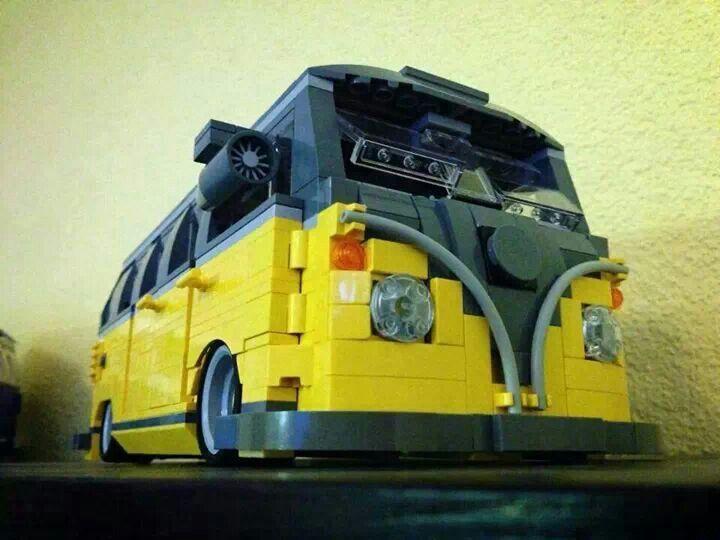 slammed lego bus lego slammed bully vw build lego. Black Bedroom Furniture Sets. Home Design Ideas