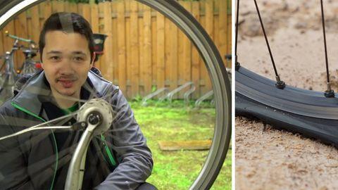 Rost am Fahrrad mit Cola und Alufolie entfernen