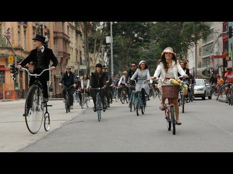 Tweed Ride: Centro de São Paulo tem passeio de bike à moda antiga- Bike é Legal