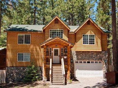 Heavenly Valley Vacation Rental - VRBO 420146 - 6 BR South Lake Tahoe Cabin in CA, Exceptional Heavenly Valley Retreat, Just Blocks to Heavenly and Lake!