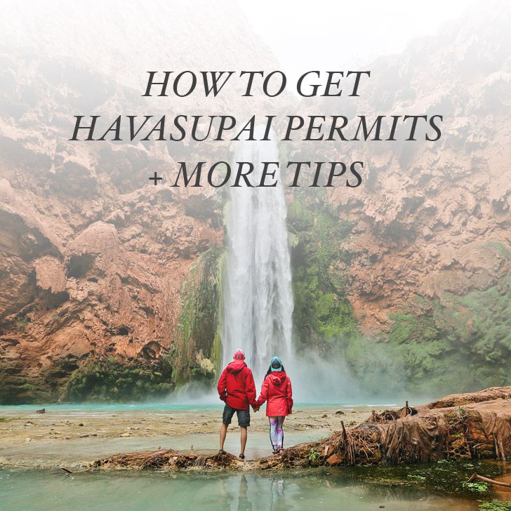 Check out our guide on how to get Havasupai Falls Reservations / Permits and additional tips for your hike and stay. We had an amazing time there!