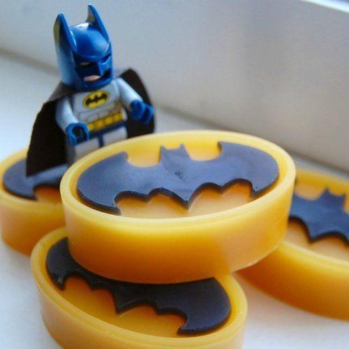 Batman Soap! For my dad!