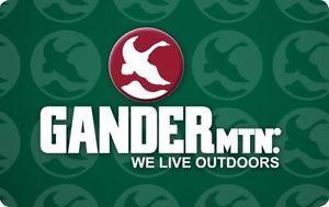 $50 Gander Mountain Gift Card for $40!