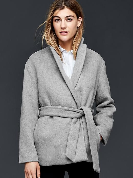 easy usa brand shoes Wool wrap coat