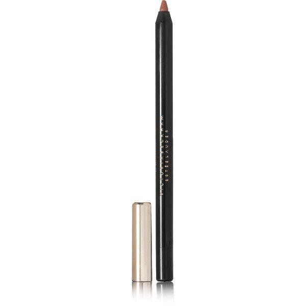 Victoria Beckham Estée Lauder Lip Pencil - Victoria ($30) ❤ liked on Polyvore featuring beauty products, makeup, lip makeup, lip pencils, neutral, lip pencil, estee lauder lip pencil, estee lauder lip liner and estée lauder