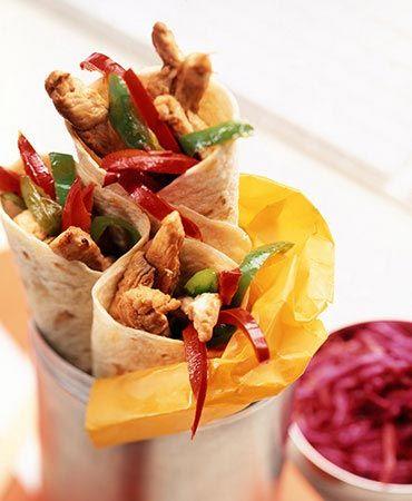 Recetas para hacer Fajitas de pollo