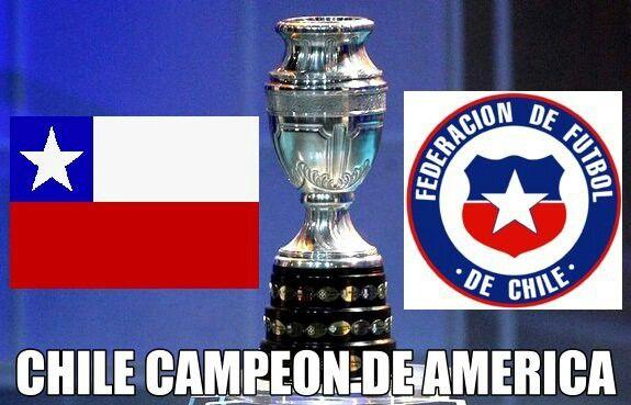 Chile Campeon De America