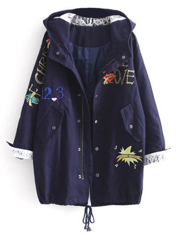 GET $50 NOW | Join RoseGal: Get YOUR $50 NOW!http://m.rosegal.com/coats/hooded-letter-embroidered-sequins-coat-913270.html?seid=9020934rg913270