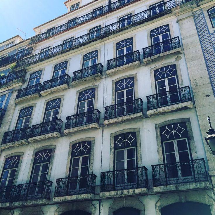 batiment en cours de renovation Rua da Madalena a Lisbonne. architecture #architectureportugal #arquitectura #matelier #interior