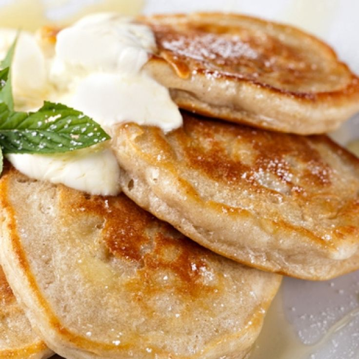 A Delicious recipe for thick pancakes with sour cream.�. Thick Pancakes With Sour Cream Recipe from Grandmothers Kitchen.