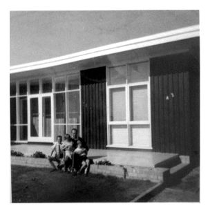 The Keep House. A modernist home built by Ross and Shirley Keep in Gale St, Aspendale, c.1956-58.