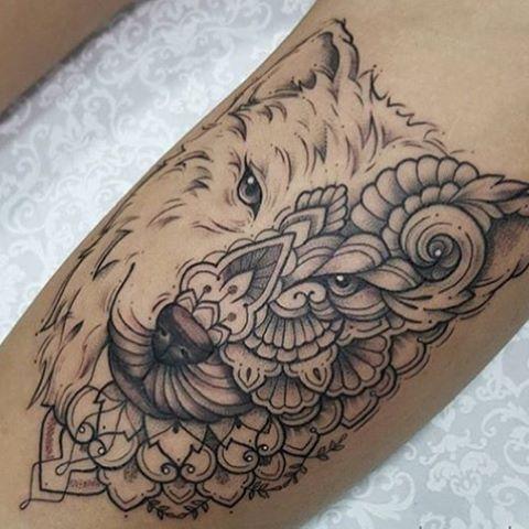 #tattooted #shiraz #ink #smalltattoo #wolftattoo #tattoos #tattoo #sketch #wolfsketchtattoo