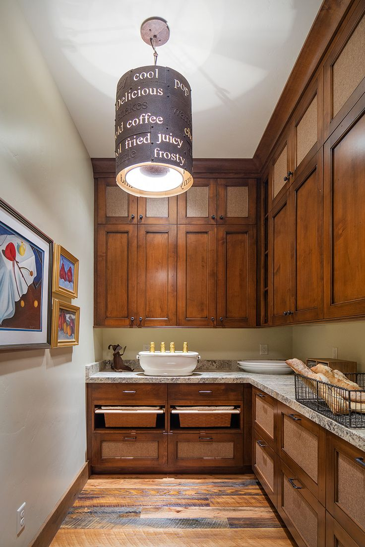 Kitchen Pantry By Cameo Homes Inc. In Utah. Cabinets By Highline Cabinets.  Interior