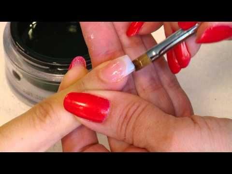 FLASH UV Gel Nail Extensions using Nail Tips - http://www.nailtech6.com/flash-uv-gel-nail-extensions-using-nail-tips/