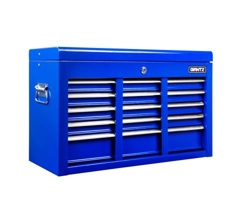 Our high quality and well-made tool boxes will keep all your tools close by and organised. With powder coating finish, this tool box is built to last long in your garage.   http://www.rosaelonline.com.au/product/9-drawers-lockable-chest-cabinet-tool-box-blue/