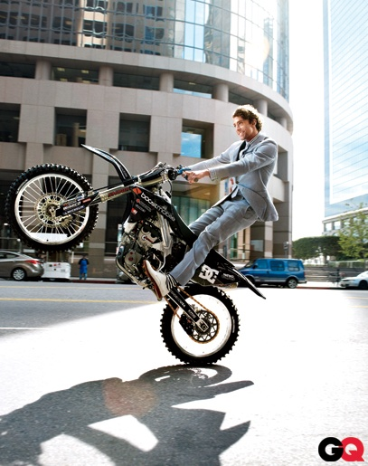 Travis Pastrana, motorsports competitor and stunt performer - from Annapolis, MD
