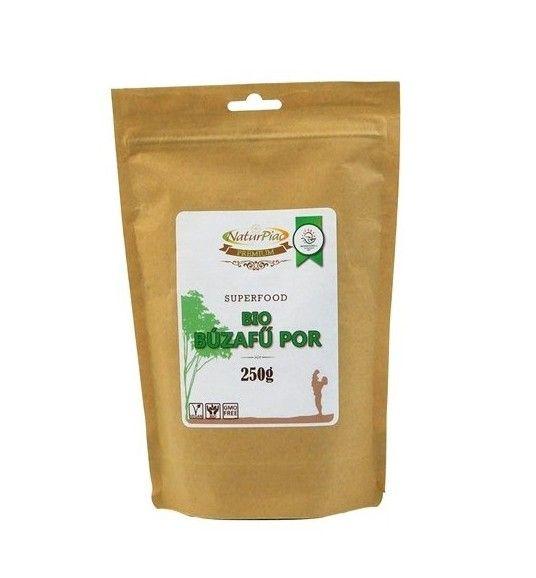 Pulbere de Grâu verde BIO - 250g - cu un conținut ridicat de vitamine și minerale.