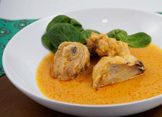 Guiso de pollo africano para #Mycook http://www.mycook.es/cocina/receta/guiso-de-pollo-africano