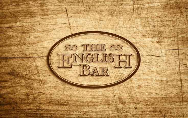 The English Bar - identidade para bar em Coimbra #adlcdesign