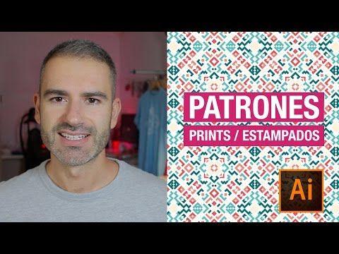 Diseño de patrones, patterns, prints o estampados en Illustrator. // marcocreativo. - YouTube