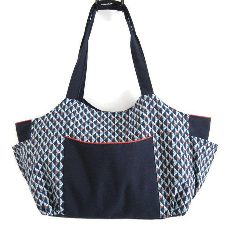 Télécharger Tutoriel du sac Emma - Patrons et tutoriels de couture tout de suite sur Makerist