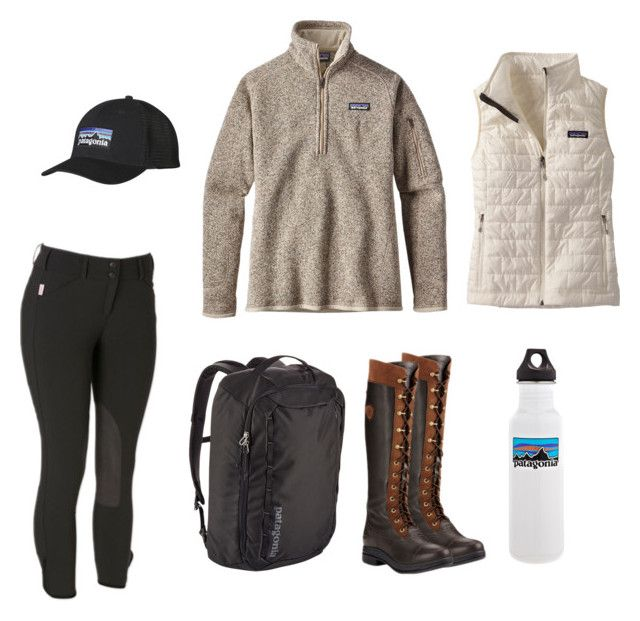 """Patagonia Equestrian"" by mi-j-dupree on Polyvore featuring Patagonia and Ariat"