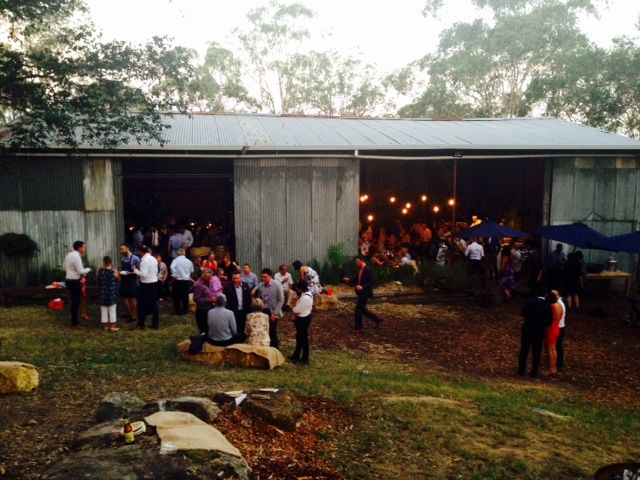 Cooks Co-op is rustic shed surrounded by beautiful bush and offers a tranquil setting, just an hour from Sydney. At Cooks Co-op we can provide not only a beautiful setting for your event but also top quality food, prepared by a renown chef Martin Boez.