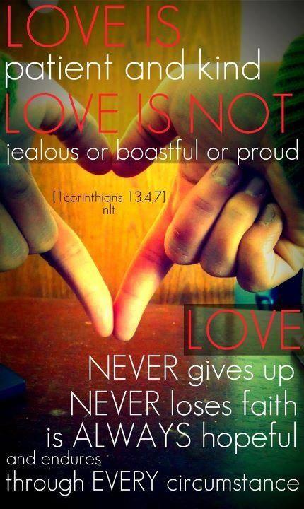 1 Corinthians 13:4-7 - God Loves You - Share or Like if you feel his love - http://www.facebook.com/pages/God-Loves-You/177820385695769(InJapanese:コリントへの手紙13:4~7 愛は寛容であり、愛は親切です。また人をねたみません。愛は自慢せず、高慢になりません。礼儀に反することをせず、自分の利益を求めず、怒らず、人のした悪を思わず、 不正を喜ばずに真理を喜びます。すべてをがまんし、すべてを信じ、すべてを期待し、すべてを耐え忍びます。<説明の欄:神はあなたを愛しています。このフェイスブックページに「いいね」するかシェアしてください。http://www.facebook.com/pages/God-Loves-You/177820385695769)