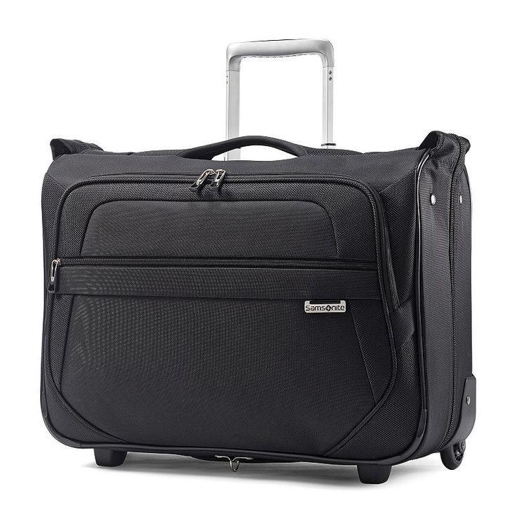 Samsonite Lite Lift Carry-On Rolling Garment Bag, Black