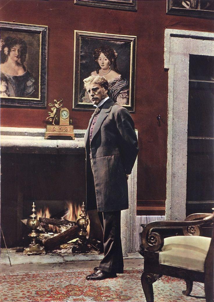 """Burt Lancaster, """"Il Gattopardo"""" by Luchino Visconti"""