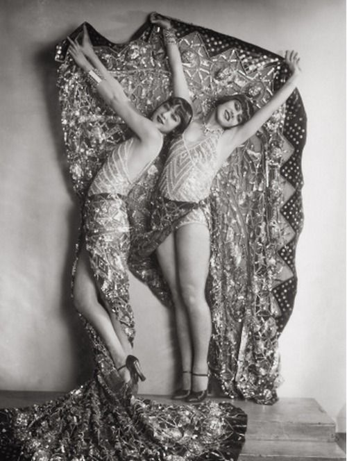Chorus girls in the revue 'Wien lacht wieder'    by Karl Farkas and Fritz Gruenbaum, Stadttheater, Vienna, 1929
