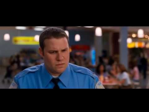Collette Wolfe, Observe and Report.  This is great how Seth handles the situation.