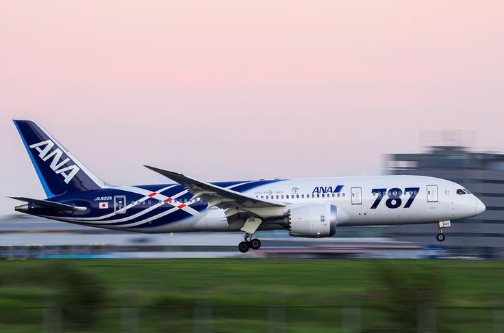Panning ! by Toshitaka Yamashiki, via 500px ~ Boeing 787 Dreamliner
