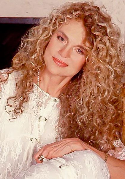 Dyan Cannon Dyan Cannon Celebreties Curly Hair